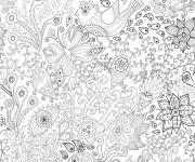 Coloriage et dessins gratuit Adulte stylisé à imprimer