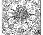 Coloriage dessin  Anti-Stress 2
