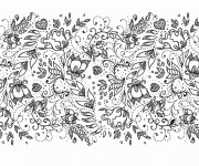 Coloriage La Nature Adulte Anti-stress
