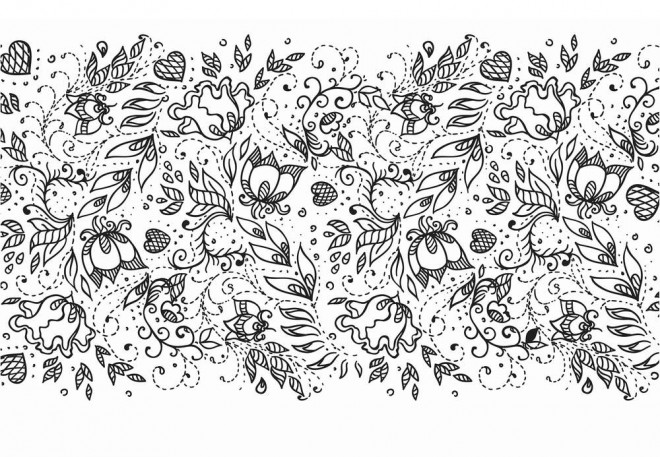 Coloriage et dessins gratuits La Nature Adulte Anti-stress à imprimer