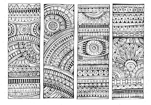 Coloriage mandala anti stress en noir et blanc dessin gratuit imprimer - Dessin anti stress mandala ...