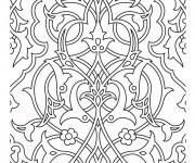 Coloriage et dessins gratuit Adulte Difficile en Ligne à imprimer
