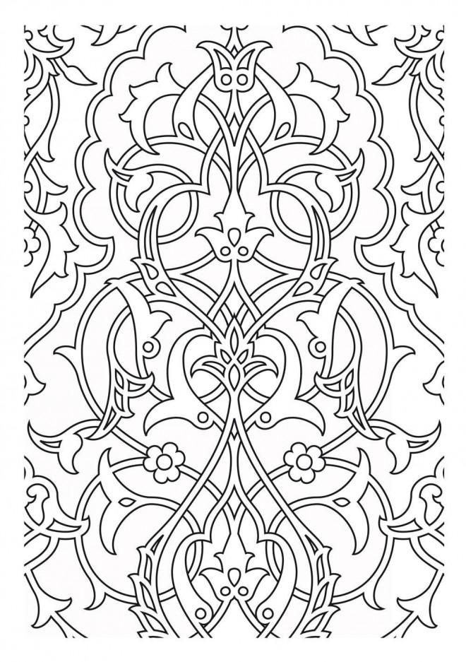 Coloriage et dessins gratuits Adulte Difficile en Ligne à imprimer