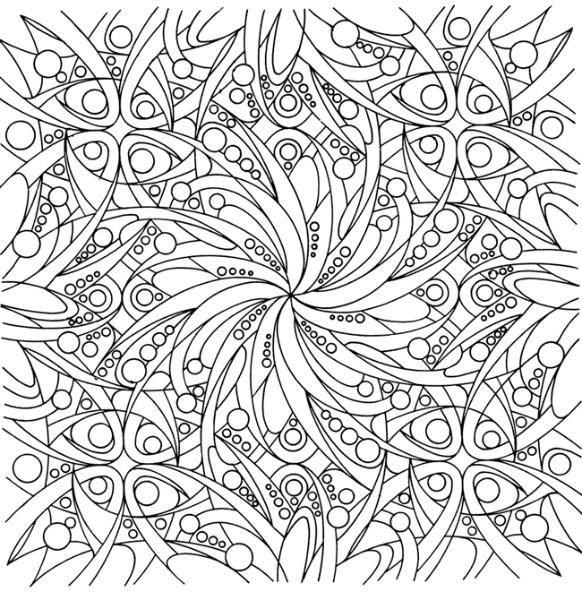 Coloriage et dessins gratuits Adulte plante et Feuille Difficile à imprimer
