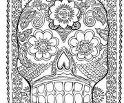Coloriage et dessins gratuit Psychédélique couleur à imprimer