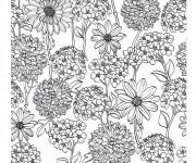 Coloriage et dessins gratuit Adulte Jardin 13 à imprimer