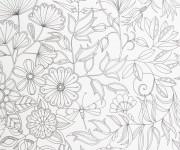 Coloriage et dessins gratuit Adulte Jardin maternelle à imprimer
