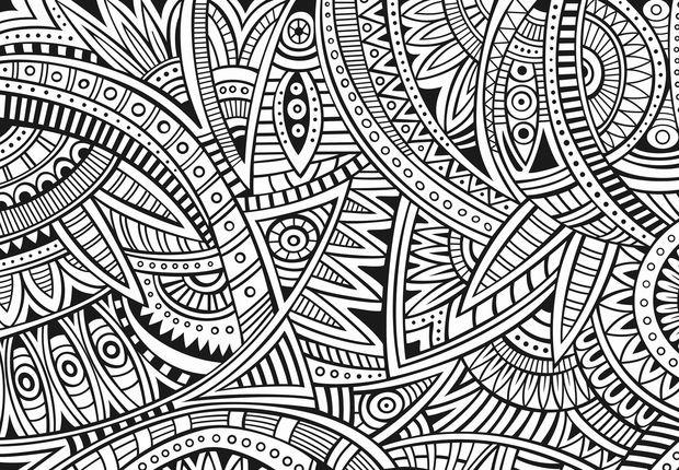 Coloriage et dessins gratuits Adulte Mandala Dur à imprimer