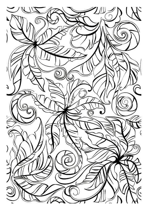 Coloriage et dessins gratuits Adulte plantes difficile à imprimer