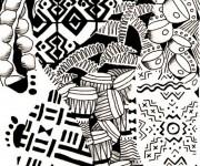 Coloriage Afrique 10