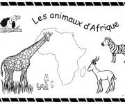 Coloriage Afrique 14