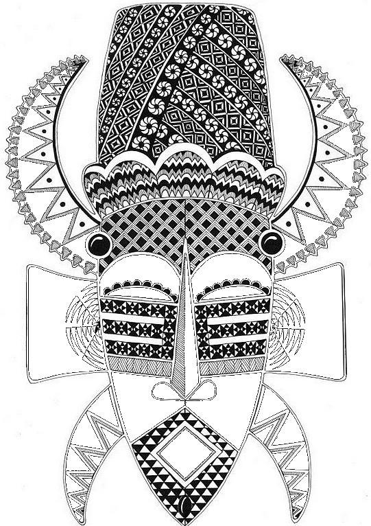 Coloriage et dessins gratuits Afrique 48 à imprimer