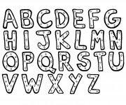 Coloriage Alphabet