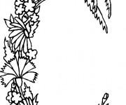 Coloriage dessin  Alphabet 9