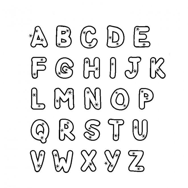 Coloriage Alphabet Gratuit A Imprimer