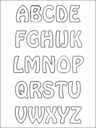 Coloriage A Imprimer Lettre.Coloriage Grand Lettres Alphabet Pour Enfant Dessin Gratuit