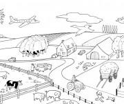 Coloriage dessin  Animaux de Ferme 7