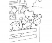 Coloriage Animaux de Ferme en Ligne