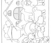 Coloriage dessin  Vache 22