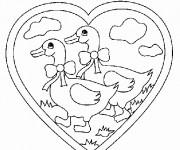 Coloriage et dessins gratuit Animaux En Ligne 45 à imprimer