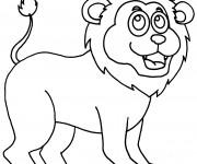 Coloriage et dessins gratuit Le Roi Lion à colorier à imprimer