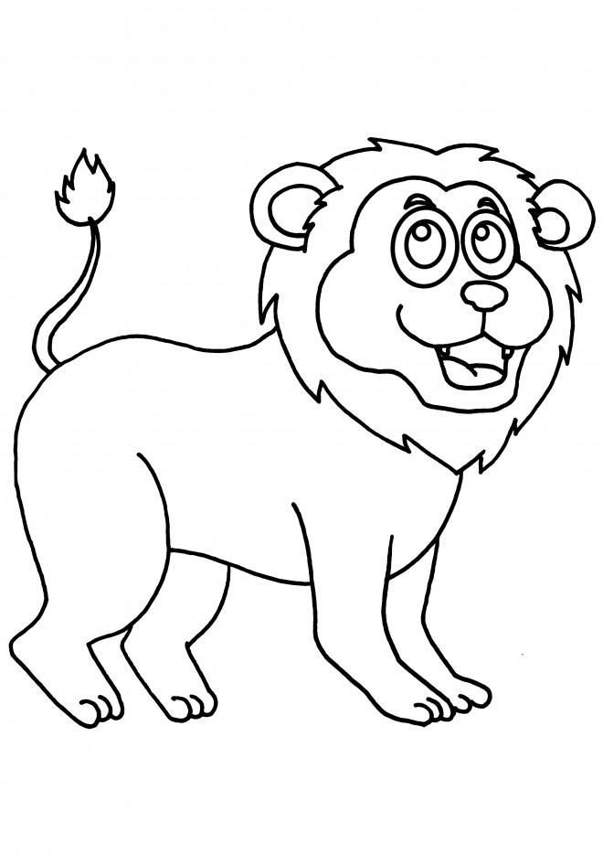 Coloriage et dessins gratuits Le Roi Lion à colorier à imprimer