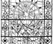 Coloriage dessin  Architecture 10