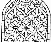Coloriage dessin  Architecture 11