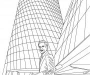 Coloriage dessin  Architecture 6