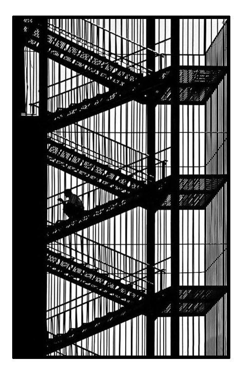 Coloriage et dessins gratuits Architecture Escaliers à imprimer