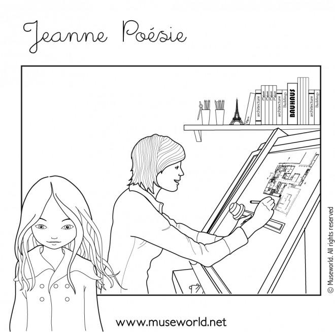 Coloriage et dessins gratuits Profession d'Architecture à imprimer