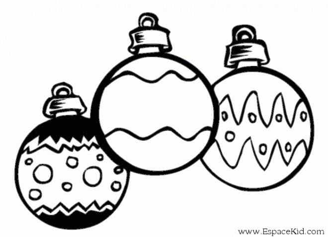 Dessin Boule De Noel.Coloriage Boules De Noel Vecteur Dessin Gratuit à Imprimer