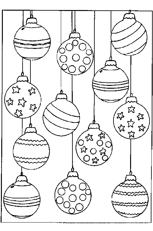 coloriage des boules de noel en ligne dessin gratuit. Black Bedroom Furniture Sets. Home Design Ideas