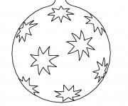 Coloriage dessin  Noel 36