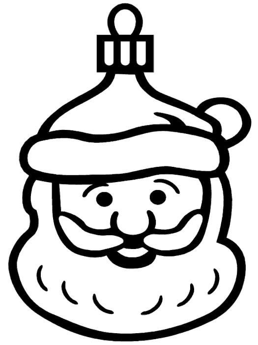 Coloriage et dessins gratuits Père Noel vecteur à imprimer
