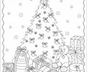 Coloriage dessin  Cadeau de Noel 9