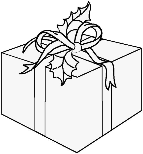 Coloriage et dessins gratuits Cadeau original à imprimer