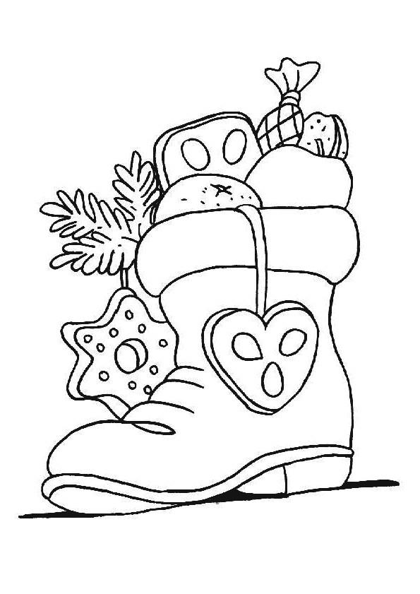 Coloriage et dessins gratuits Cadeaux de Noël en Ligne à imprimer
