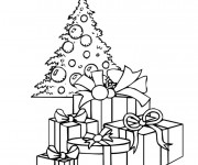 Coloriage et dessins gratuit Cadeaux Pour Le Noel à imprimer