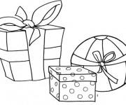 Coloriage Cadeaux pour petits