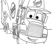 Coloriage Camion Disney