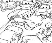 Coloriage et dessins gratuit Cars Disney 2 à imprimer