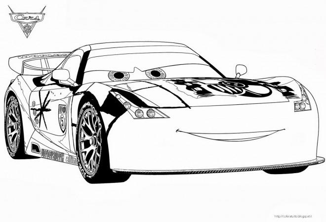 Coloriage et dessins gratuits Cars Disney à télécharger à imprimer