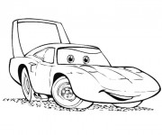 Coloriage Cars en  couleur