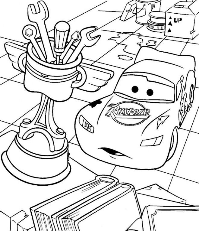 Coloriage et dessins gratuits Flash et le Trophée bizarre à imprimer
