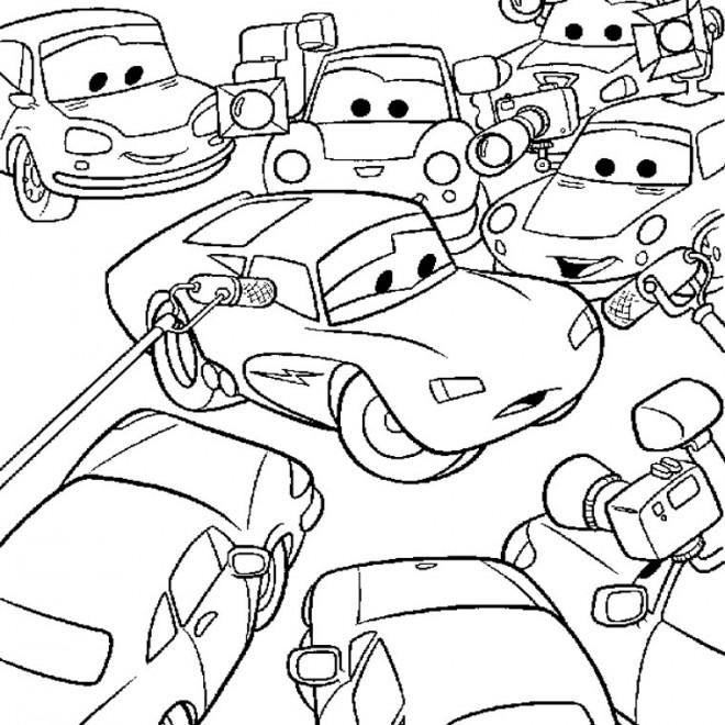 Coloriage et dessins gratuits Flash Populaire Disney à imprimer
