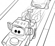 Coloriage cars flash mcqueen 25 dessin gratuit imprimer - Flash mcqueen film gratuit ...