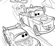 coloriage cars flash mcqueen 3 gratuit imprimer en ligne. Black Bedroom Furniture Sets. Home Design Ideas