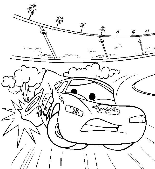disney cars coloring pages games - photo#41
