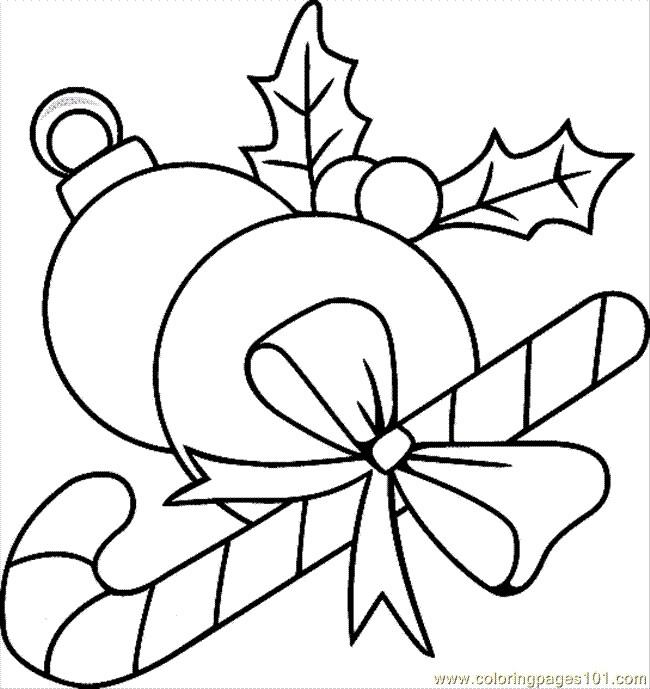 Coloriage et dessins gratuits Boule de Noel couleur à imprimer